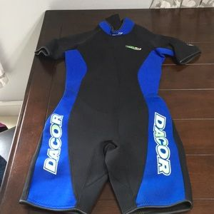 Other - Dacor shorty wet suit.